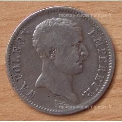 1 Franc Napoléon I Tête de nègre 1807 A Paris