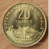 Djibouti Côte Française des Somalis 20 Francs 1952 essai