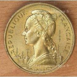 Madagascar 10 Francs 1953 Essai