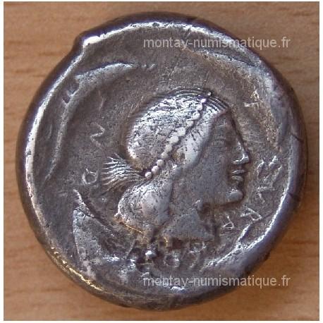 Sicile Syracuse tétradrachme Hiéron I 485-465 AC