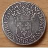 Louis XIII Ecu de 60 sols 1643 D Lyon
