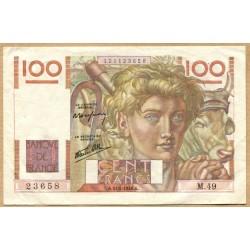 100 Francs Paysan 31-05-1946 M.49