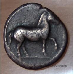 Macédoine PERDICCAS II Tetrobole 454-413 AC étalon léger