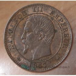 Deux centimes Napoléon III 1857 K Bordeaux