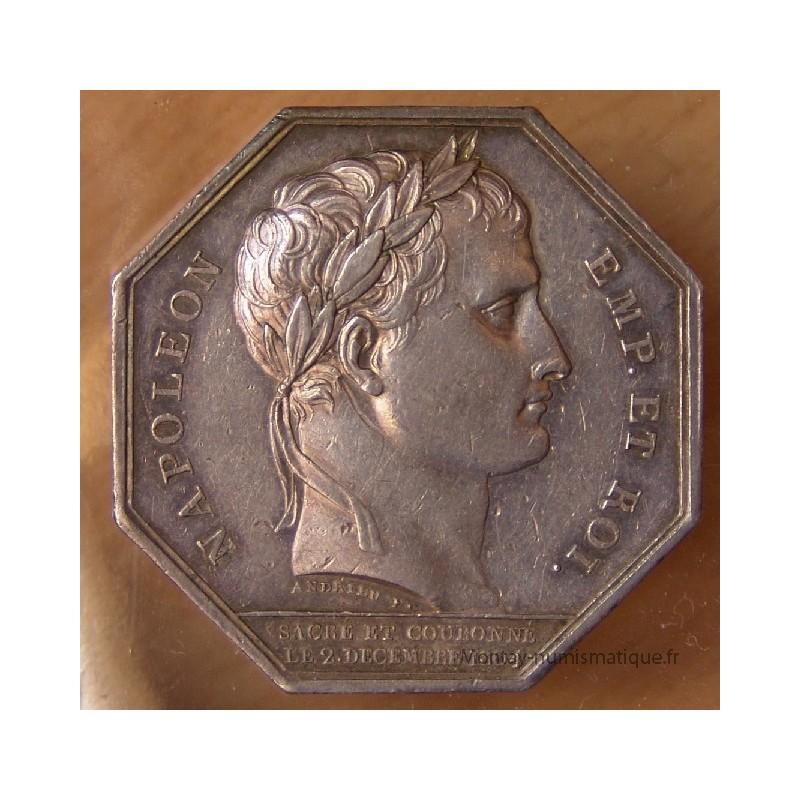 Jeton chambre de commerce d 39 amiens 1804 montay numismatique for Chambre de commerce amiens