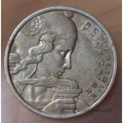 100 Francs Cochet 1956