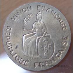 Polynésie-Française 2 Francs 1948 Essai Océanie Française