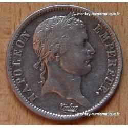 2 Francs Napoléon I revers Empire 1809 B
