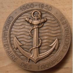 Médaille Cinquantenaire Troupes Coloniales 1900-1950