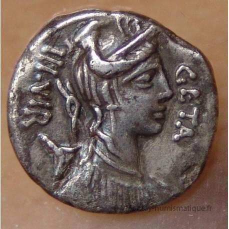 Denier hosidia 68 ac rome montay numismatique for Acheter piscine pour chien