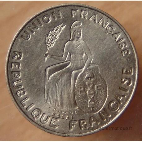 Polynésie-Française 50 centimes 1948 Essai Océanie Française