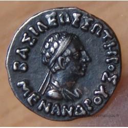 Bactriane Drachme Menandre I er Soter 160-155 AC