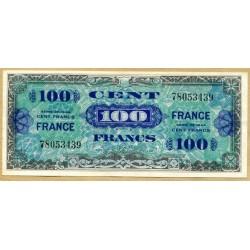 100 Francs Verso France Juin 1945 sans série