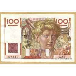 100 Francs Paysan 11-7-1946 X.68