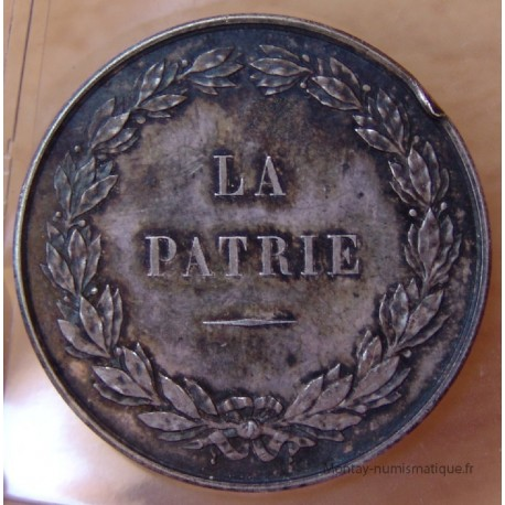 Jeton Assurances LA PATRIE 1868 Second Empire