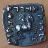 Bactriane Drachme carré Philoxene 100-95 AC