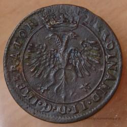 Jeton Besançon 1630 Ferdinand II Service des comptes