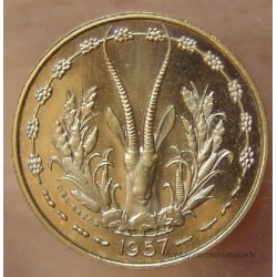 TOGO 10 francs 1957 Essai Afrique Occidentale Française