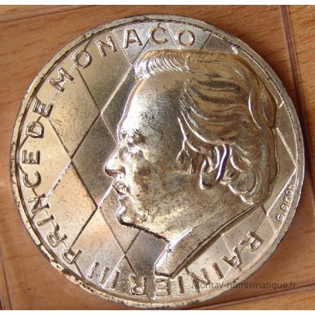 MONACO Médaille 1974 - Rainier III 25 ans de régne
