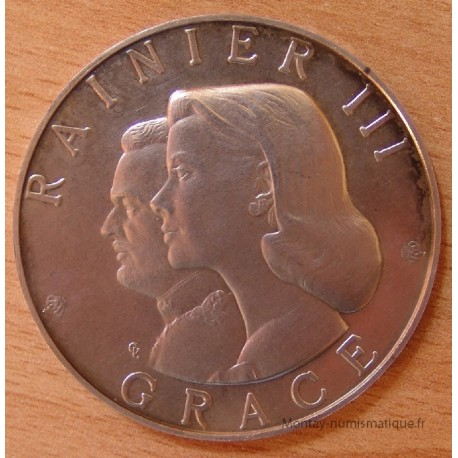 MONACO Médaille 1966 Centenaire de Monte Carlo