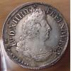 Louis XIV - 1/2 Ecu aux Palmes 1695 G Poitiers rf