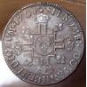 Louis XIV 1/2 Ecu aux 8 L 1704 B Rouen