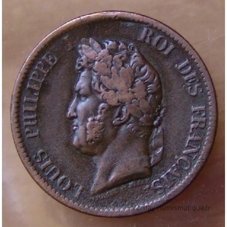 5 Cent Louis-Philippe 1843 A frappé Iles Marquises