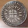 PHILIPPE IV LE BEL Gros Tournois à l'O long L ornée d'un lis (1290-1295).