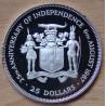 JAMAÏQUE 25 Dollars 1987 25 ème anniversaire de l'indépendance.