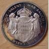 MONACO Médaille Prince Albert 1er (1848 - 1922) ND ( 1975).