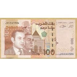 Maroc - 100 Dirhams 1423-2002