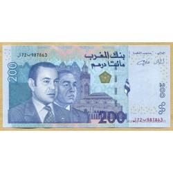 Maroc - 200 Dirhams 1423-2002