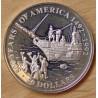 Îles Cook 50 dollars 1991/1992 proof 500e anniversaire découverte de l'Amérique