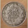 20 Centimes Napoléon III 1854 A Paris.
