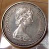 Canada 1 Dollar Elisabeth II 1972 Canoë avec indien