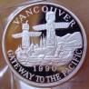 Canada 20 Dollar -Trade dollar 1990 Vancouver