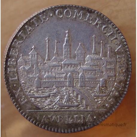 Jeton Orléanais Communauté des marchands de la Loire 1739