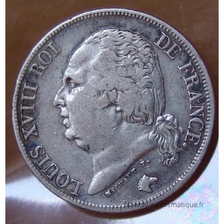 2 Francs Louis XVIII 1824 A Paris