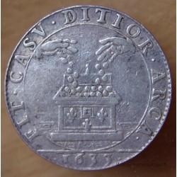 Jeton Louis XIII Parties et revenues casuels 1633