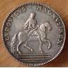 Louis XV Jeton Extraordinaire des guerres 1715 Statue Équestre