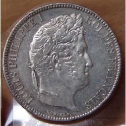 5 Francs Louis Philippe laurée 1831 A Paris
