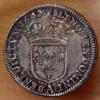 Louis XIII 1/4 écu 1642 A Rose deux points - 2 ème poinçon de Warin