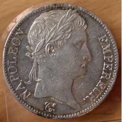 5 Francs Napoléon I 1814 A Paris