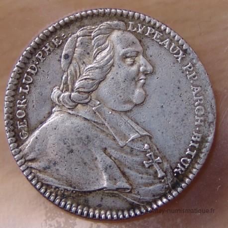 Jeton Georges-Louis Phélypeaux d'Herbault 1757.