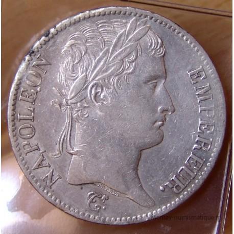 5 Francs Napoléon I 1813 MA Marseille fauté