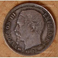 50 CENT. Napoléon III tête nue 1860 A main