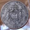 5 Francs Napoléon III 1857 A Paris