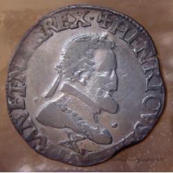 Henri IV Demi Franc 1597 X Amiens