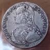 Louis XV 1/2 Ecu 1728 D Lyon aux branches d'olivier