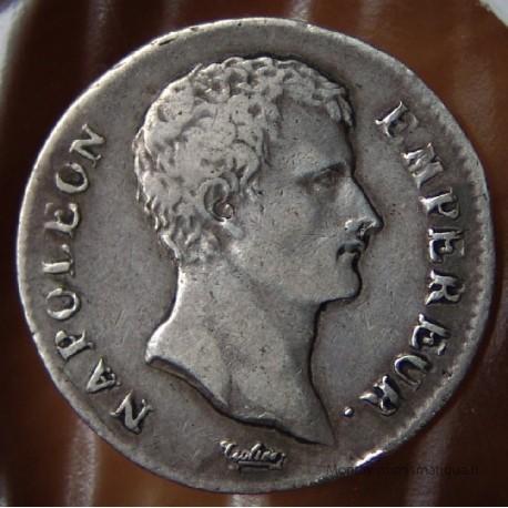 1 Franc Napoléon Empereur AN 12 B Rouen